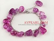 Crystal Bracelet with Adjustable Chain Is Sold At $2.35